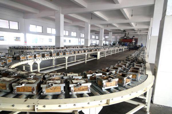 益阳茶厂现代化生产车间